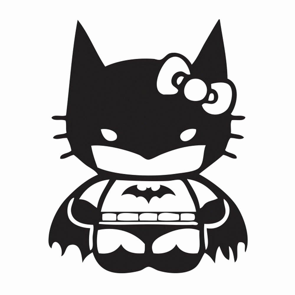 Free Batman Pumpkin Stencil Fresh Hello Kitty Meets Batman