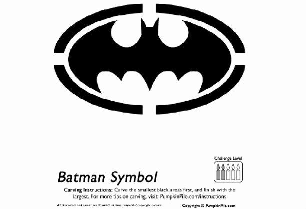Free Batman Pumpkin Stencil Lovely Best 25 Batman Pumpkin Stencil Ideas On Pinterest