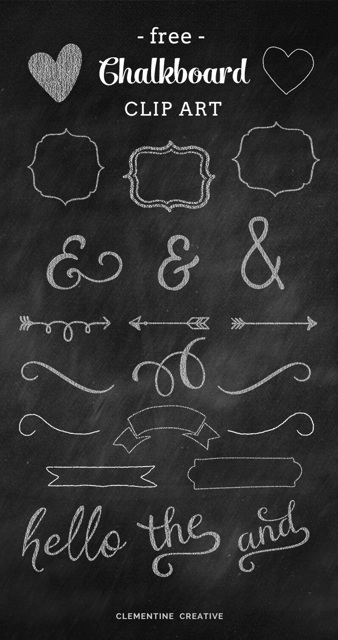 Free Birthday Chalkboard Template Inspirational Free Chalkboard Clip Art Graphics