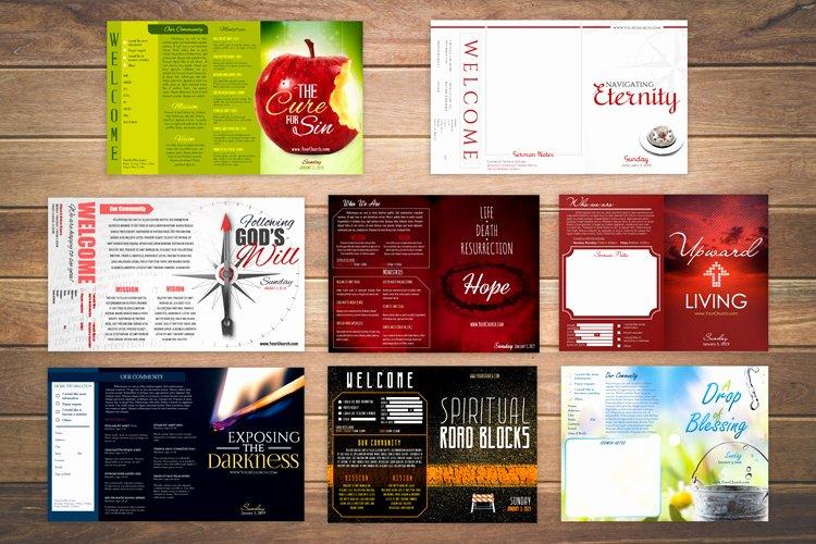 Free Bulletin Template Fresh Free Church Bulletin Templates 8 Professionally Designed