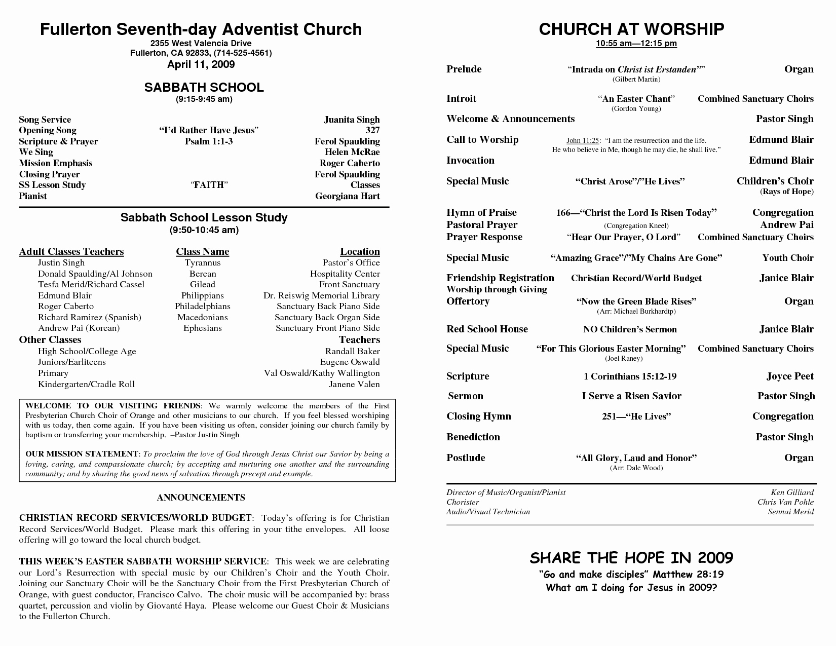 Free Bulletin Template Luxury Church Bulletin Templates