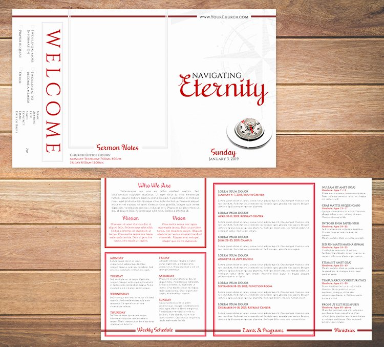 Free Bulletin Template New Free Church Bulletin Templates 8 Professionally Designed