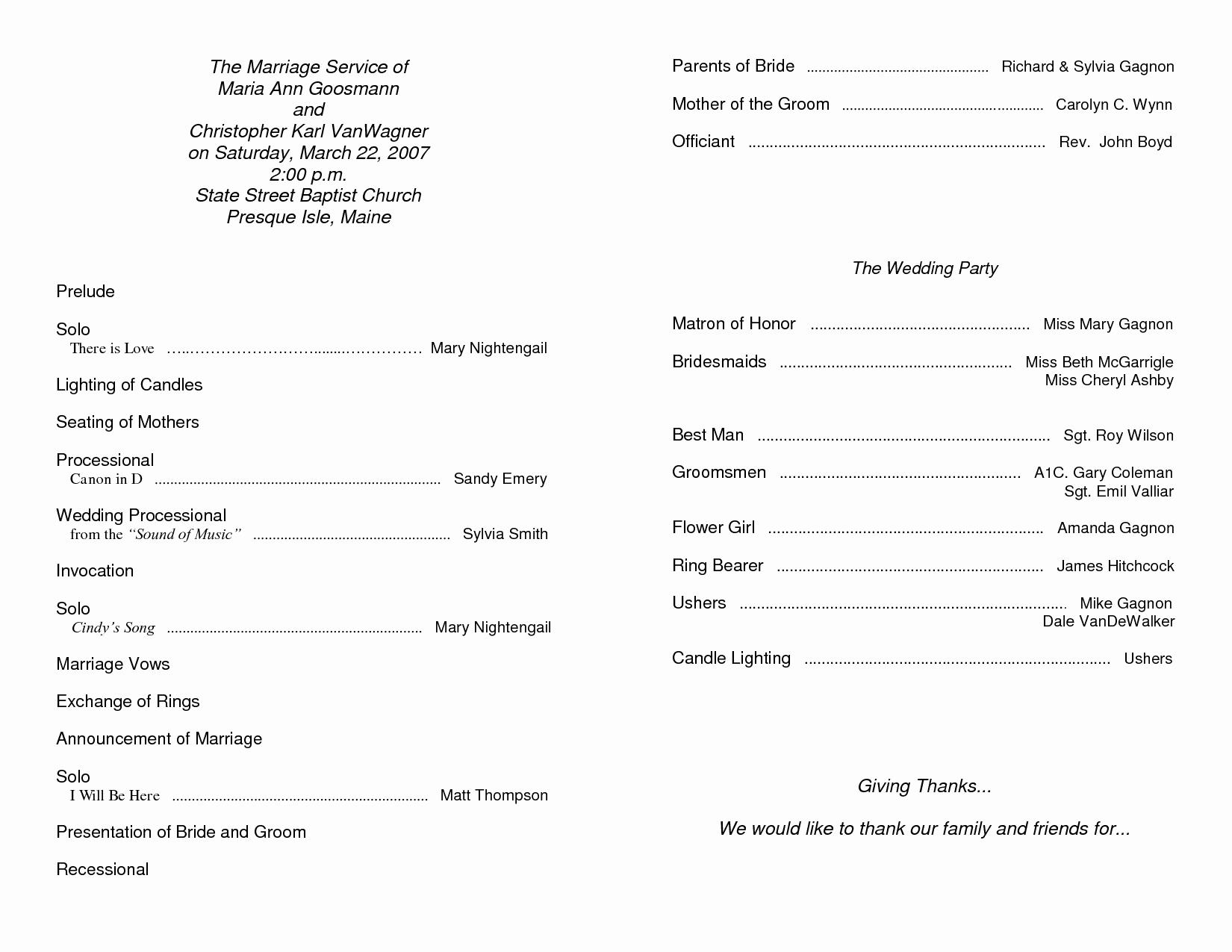 Free Bulletin Template New Free Printable Church Bulletin Templates