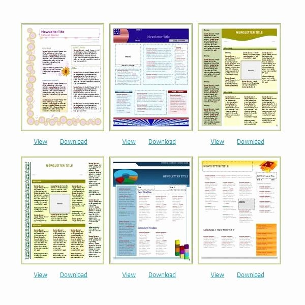 Free Bulletin Template Unique where to Find Free Church Newsletters Templates for