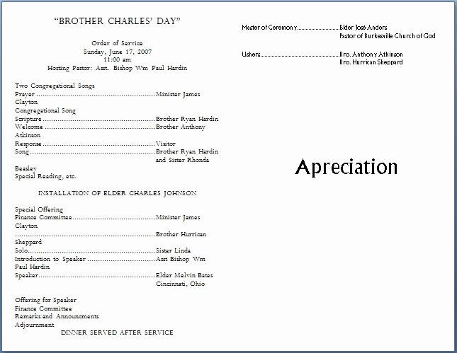 Free Church Bulletin Templates Beautiful Church Bulletin Templates