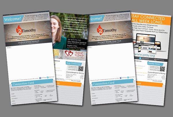 Free Church Bulletin Templates Fresh Weekly Church Bulletin Layout On Behance
