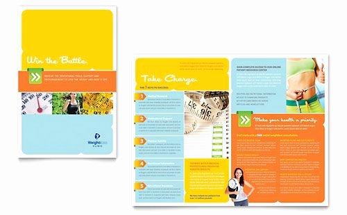 Free Church Bulletin Templates Microsoft Publisher Fresh Contoh Brosur Klinik Kesehatan Abc Contoh