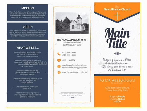 Free Church Flyer Templates Microsoft Word Awesome 10 Popular Church Brochure Templates & Design – Free Psd