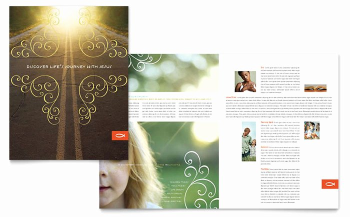 Free Church Flyer Templates Microsoft Word Awesome Christian Church Religious Brochure Template Design