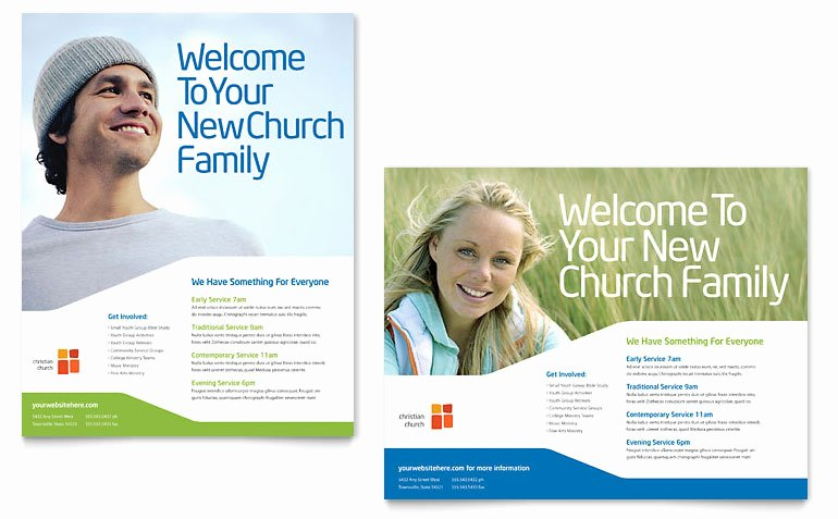 Free Church Flyer Templates Microsoft Word Elegant Church Youth Ministry Poster Template Word & Publisher