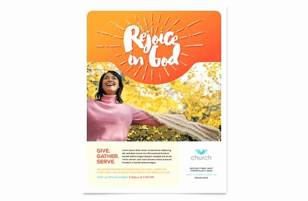 Free Church Flyer Templates Microsoft Word Elegant Template Ideas the Edyloungesydney