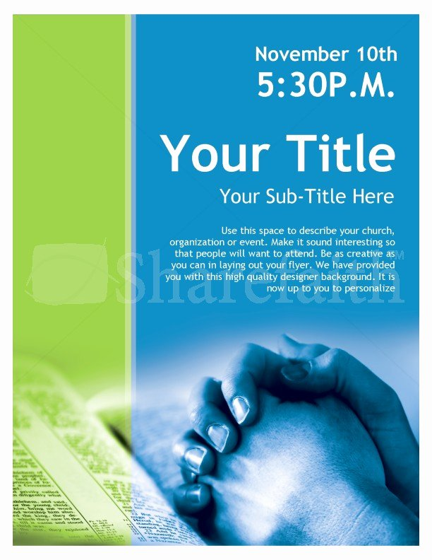 Free Church Flyer Templates Microsoft Word Fresh Free Church Brochure Templates for Microsoft Word