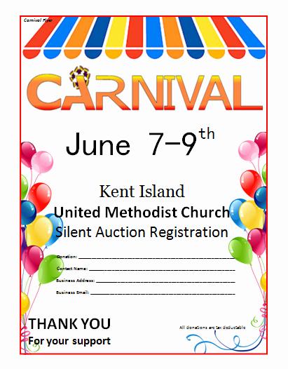 Free Church Flyer Templates Microsoft Word Lovely Microsoft Word Carnival Flyer Template
