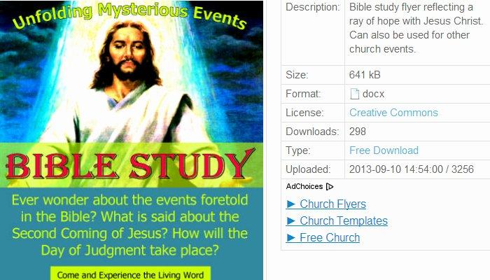Free Church Flyer Templates Microsoft Word Unique 5 Free Church event Flyer Templates