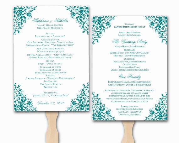 Free Church Program Template Microsoft Word Inspirational Wedding Program Template Word