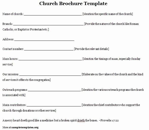 Free Church Program Template Microsoft Word Luxury Free Printable Church Anniversary Program