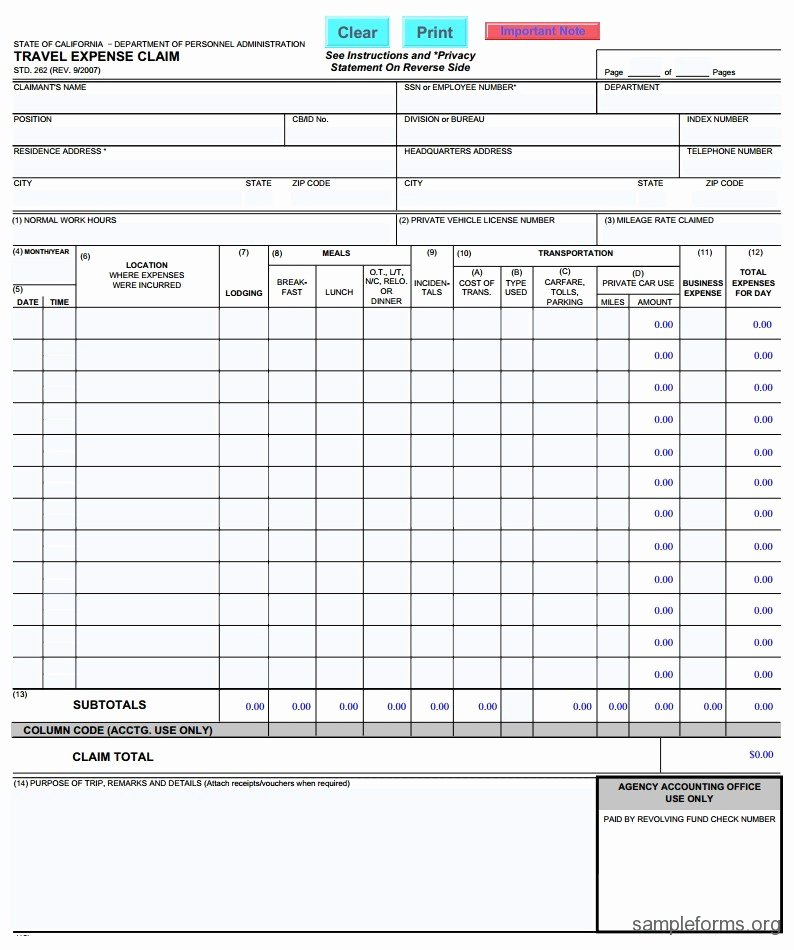 Free Cms 1500 Template for Word Lovely Personal Injury Claim form Template Sample form Personal