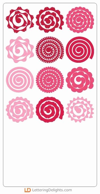 Free Cricut Paper Flower Template Elegant I Love 2 Cut Paper Tea Time Party Svg Ai Dxf Eps