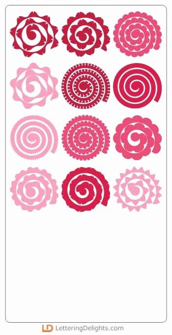 Free Cricut Paper Flower Template Elegant I Love 2 Cut Paper Tea Time Party Svg Ai Dxf Eps