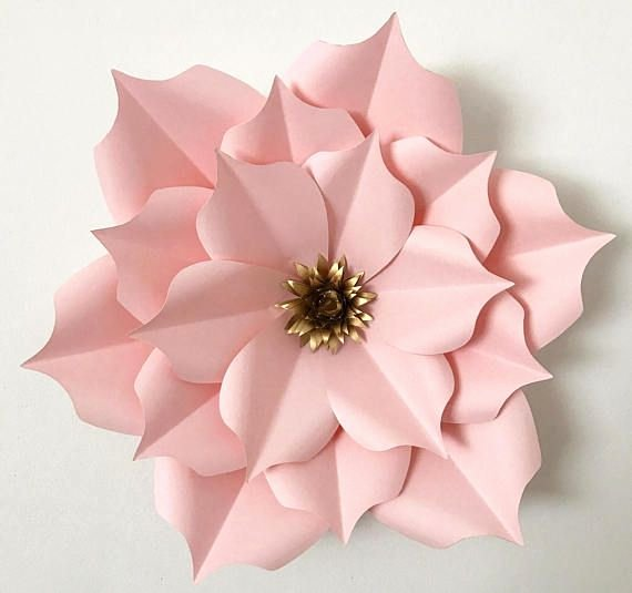 Free Cricut Paper Flower Template Luxury Svg Petal 5 Paper Flowers Template with Flat Center for
