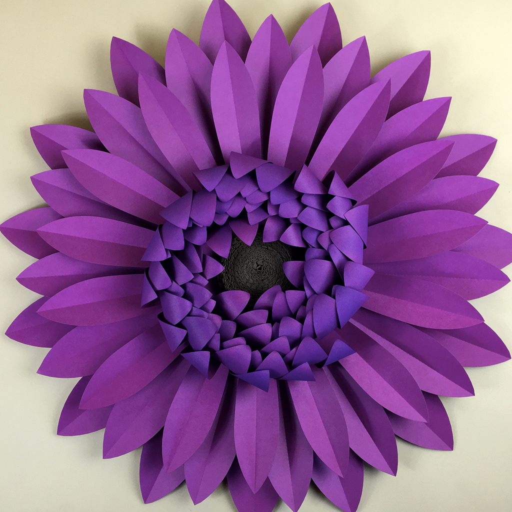 Free Cricut Paper Flower Template New Gerbera Daisy Diy Templates Svg Dxf