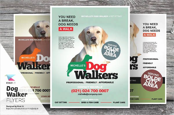 Free Dog Walking Flyer Template Inspirational 15 Dog Walking Flyer Templates Psd Vector Eps Ai