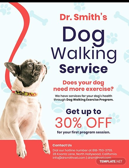 Free Dog Walking Flyer Template Lovely Free Home Cleaning Service Flyer Template Download 640