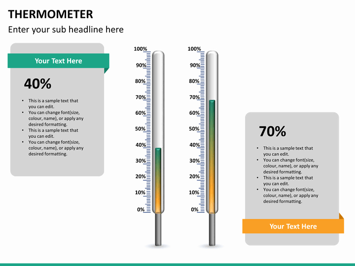 Free Editable thermometer Template Lovely Powerpoint thermometer Template