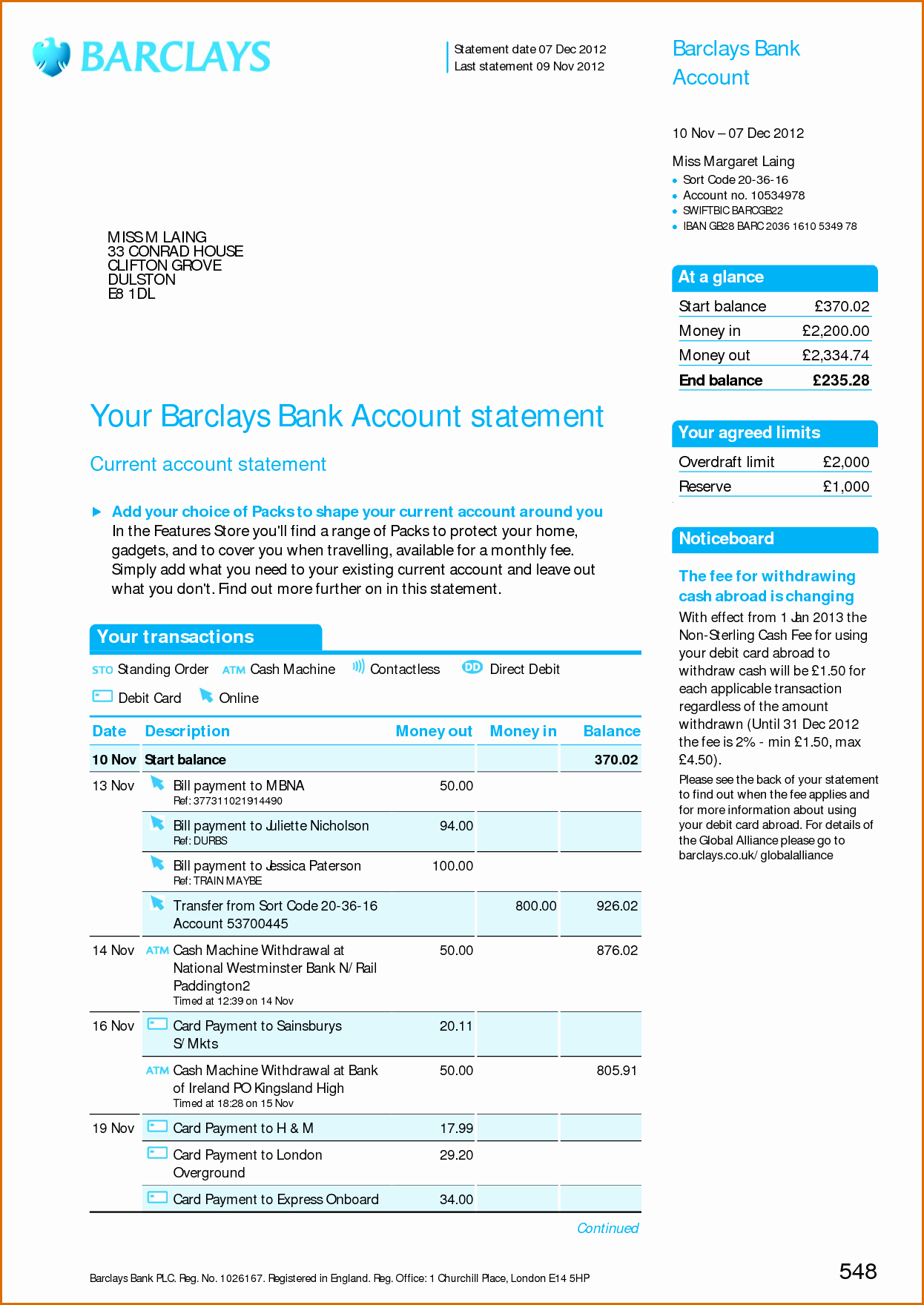 Free Fake Bank Statement Template Awesome 8 Bank Statement Template