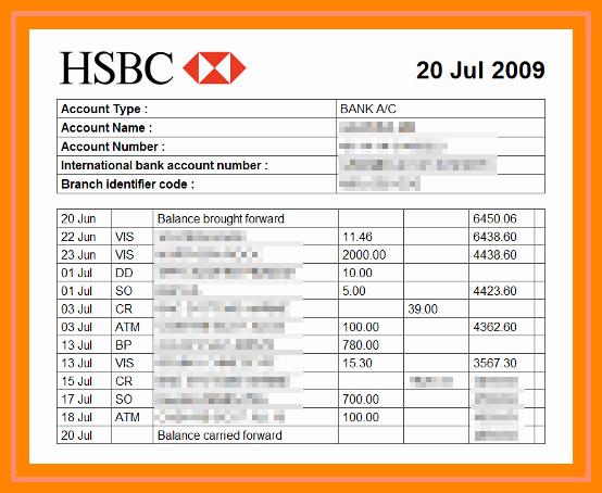 Free Fake Bank Statement Template Best Of 18 Fake Bank Statement Generator