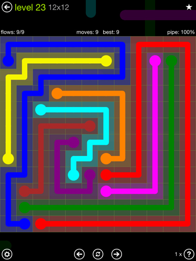 Free Flow Extreme Pack 2 12x12 Level 9 Beautiful Flow Free solutions Flow Extreme Pack Set 12x12 Level 23
