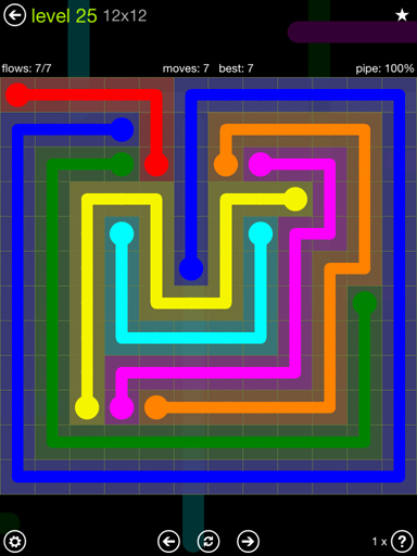 Free Flow Extreme Pack 2 12x12 Level 9 Fresh Flow Free solutions Flow Extreme Pack Set 12x12 Level 25