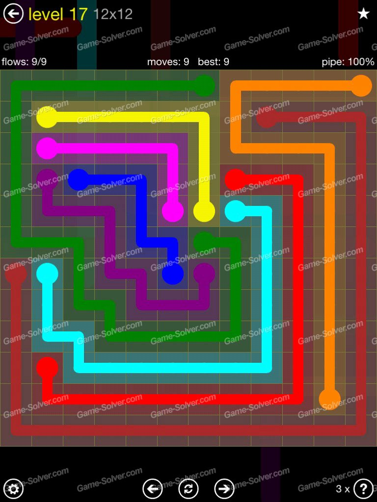 Free Flow Extreme Pack 2 12x12 Level 9 Lovely Flow Extreme Pack 2 12×12 Level 17 Game solver