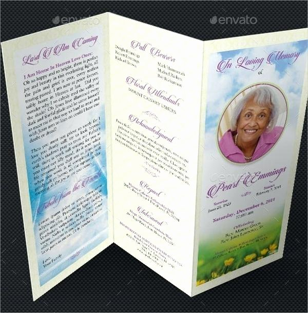 Free Funeral Program Template Word Beautiful Free Funeral Program Template Microsoft