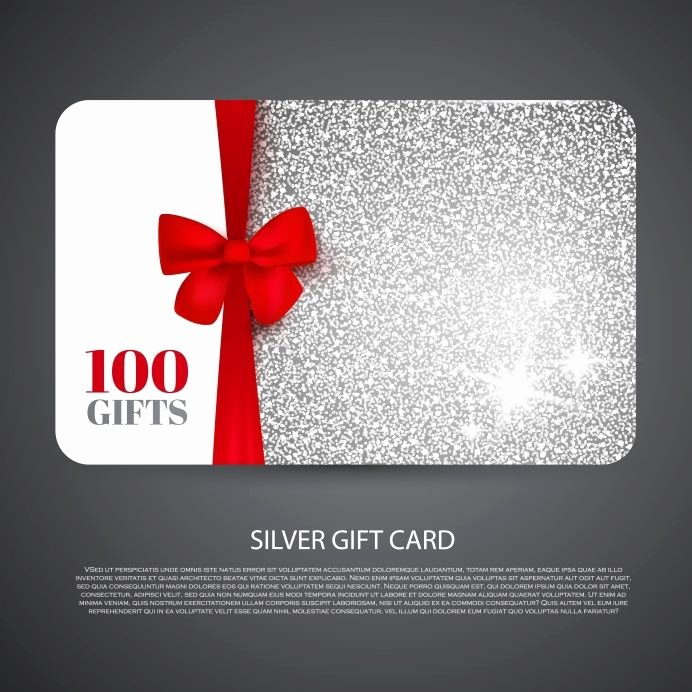 Free Gift Card Templates Best Of Free T Card Design social