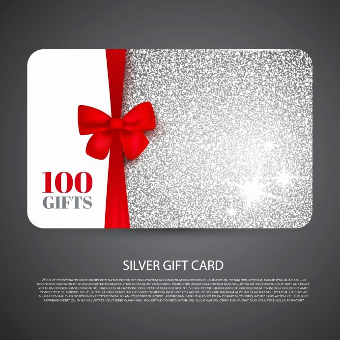 Free Gift Card Templates Best Of Free T Card Design Template