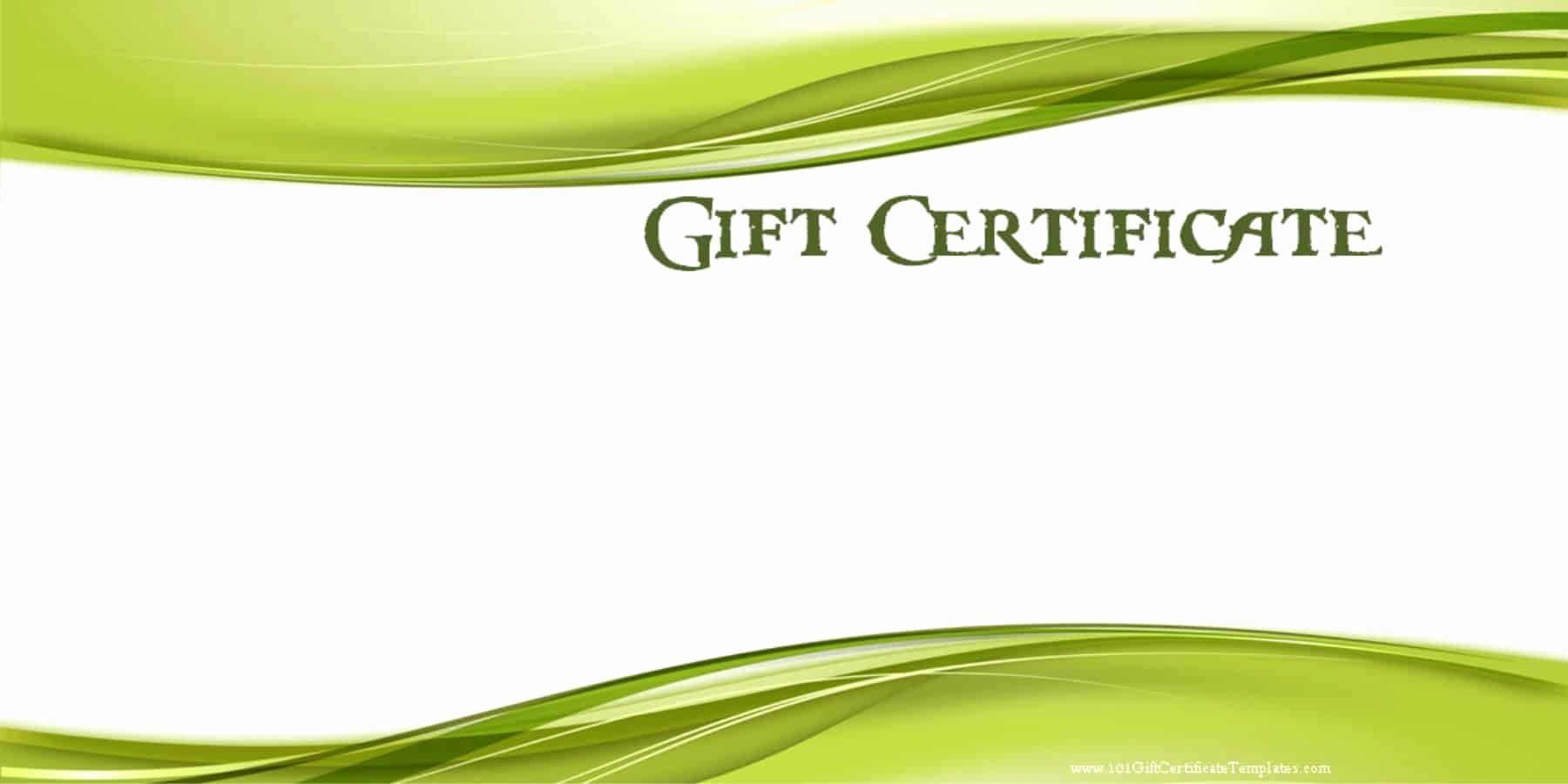 Free Gift Card Templates Lovely Printable Gift Certificate Templates