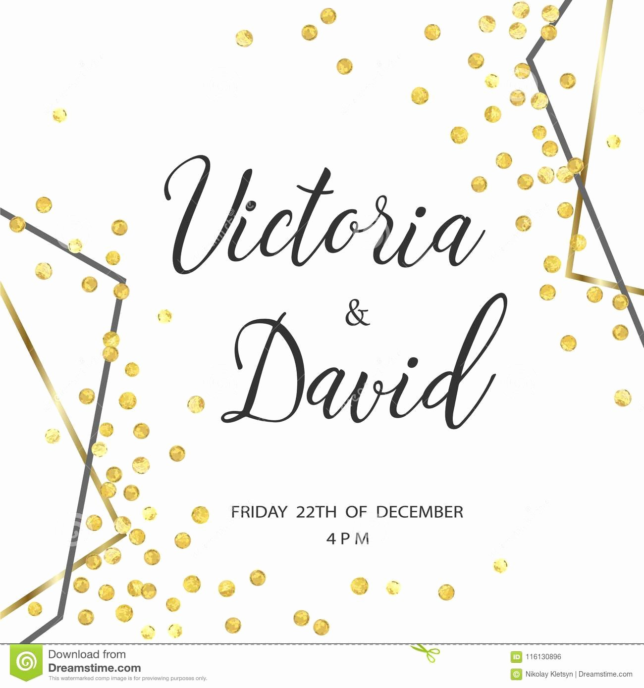 Free Gold Border Templates Best Of Wedding Gold Dot 5 Stock Vector Illustration Of Card