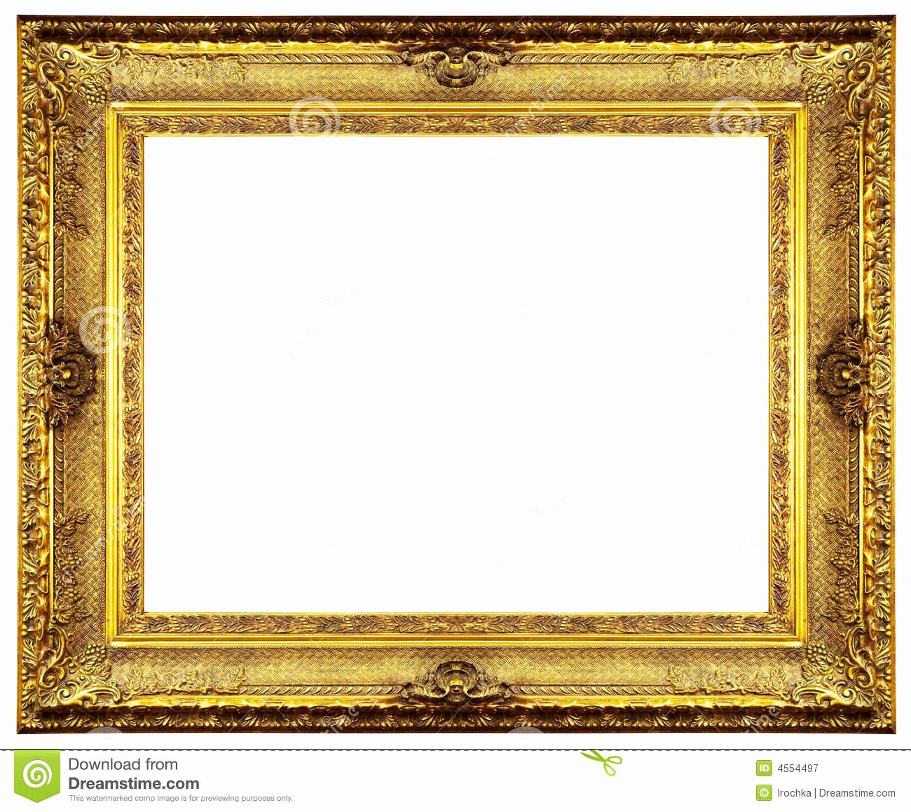 Free Gold Border Templates Elegant Golden Clipart Picture Frame Pencil and In Color Golden