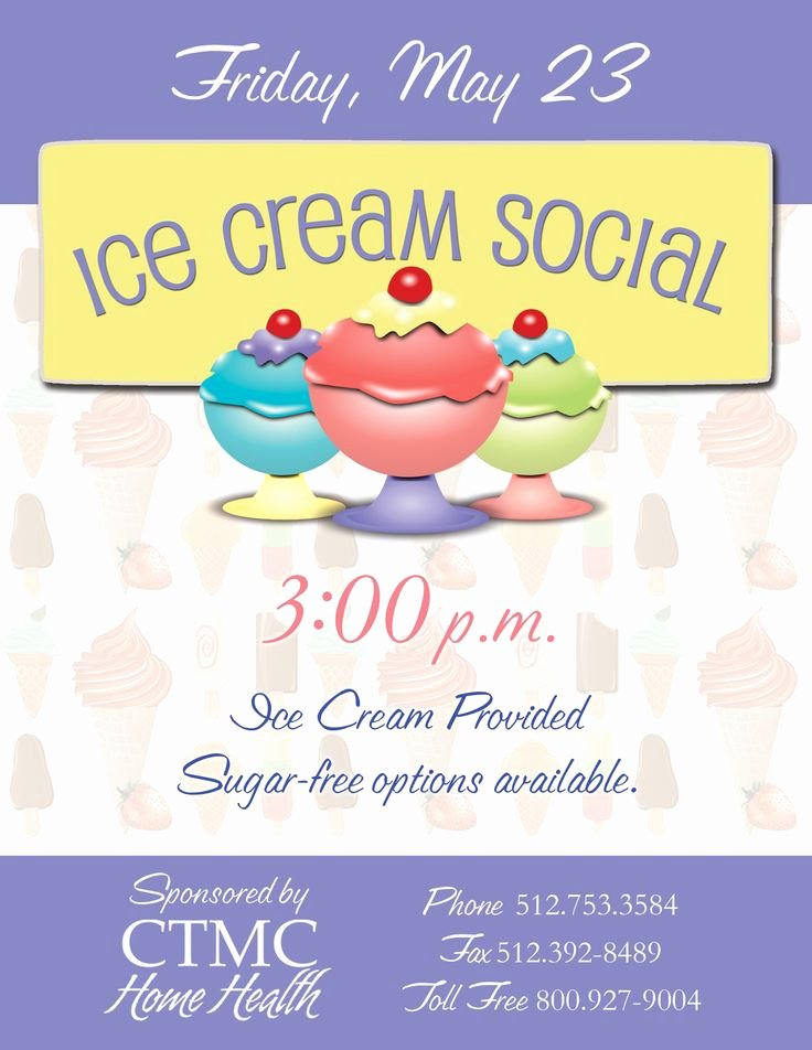Free Ice Cream social Flyer Template Fresh Ice Cream social Flyer Things I Ve Made