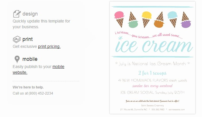 Free Ice Cream social Flyer Template Inspirational 4 Ice Cream social Flyer Templates