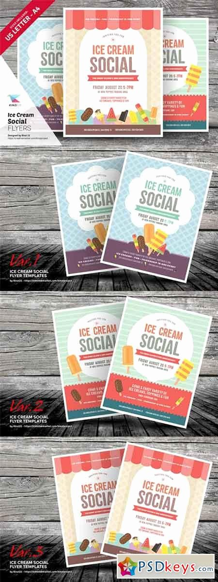 Free Ice Cream social Flyer Template Inspirational Print Templates Page 157 Free Download Shop