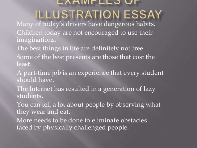 Free Illustration Essay Examples Beautiful Examples Of Illustration Essay