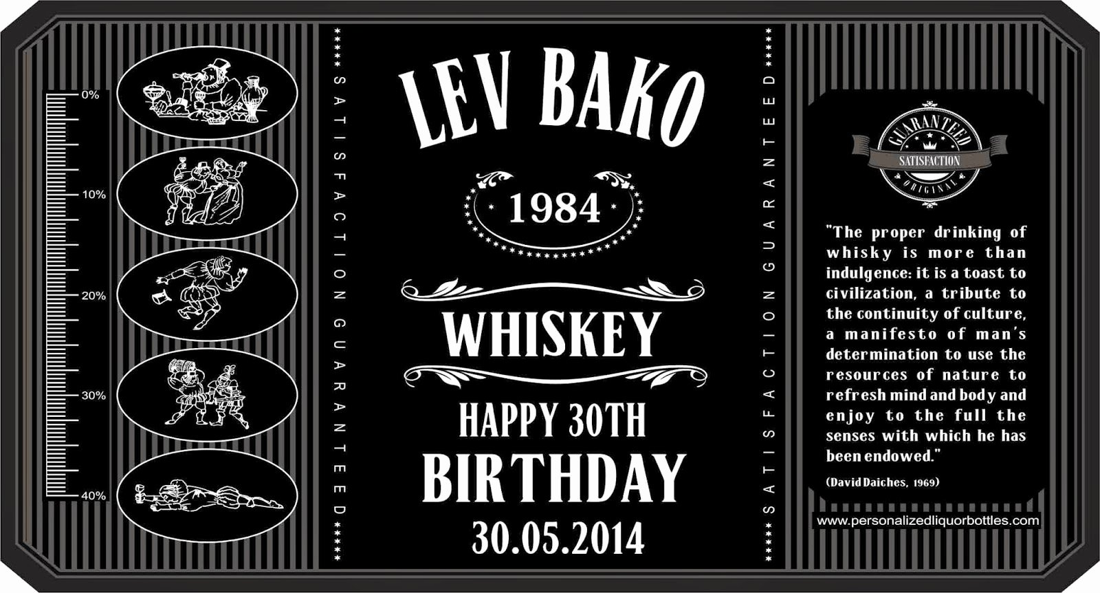 Free Jack Daniels Label Template Best Of Personalized Liquor Bottles Personalized Whiskey Bottles
