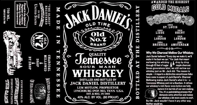 Free Jack Daniels Label Template Elegant Jack Daniel S Switches Up Classic Label