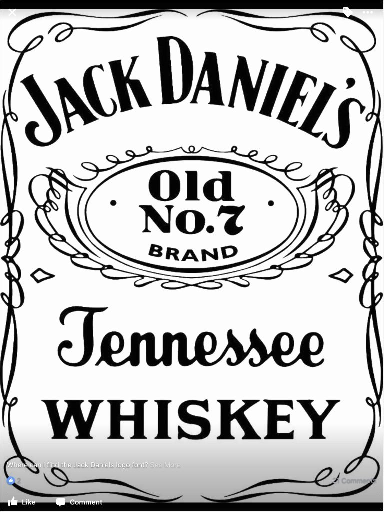 Free Jack Daniels Label Template Elegant Jack Daniels Label Template