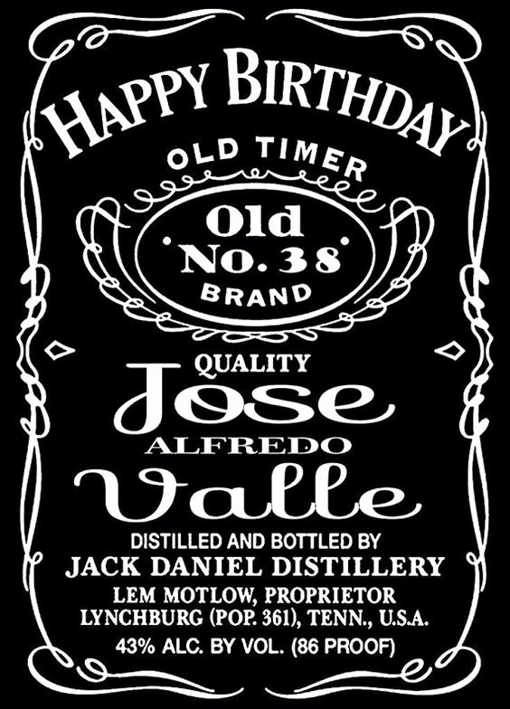 Free Jack Daniels Label Template Inspirational Jack Daniels Liquor Bottle Label Design Vinyl Wall Mural
