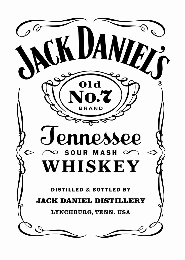 Free Jack Daniels Label Template Luxury 10 Best Ideas About Jack Daniels Label On Pinterest