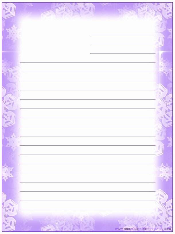 Free Lined Stationery Templates Awesome 109 Best Christmas Stationery Images On Pinterest