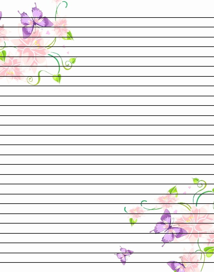 Free Lined Stationery Templates Inspirational Best 25 Notebook Paper Ideas On Pinterest